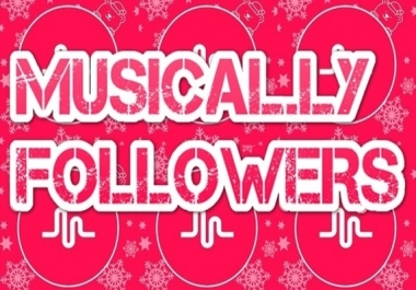 Buy  300 Musical.ly followers