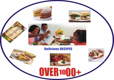 Great Cook Book [With BONUS]- Give You 6 Complete Recipe Ebooks with over 3000 RECIPE For Price Of One !!!