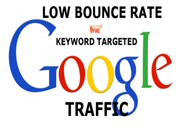 Keyword Low Bounce USA Google Search Traffic for 30 Days