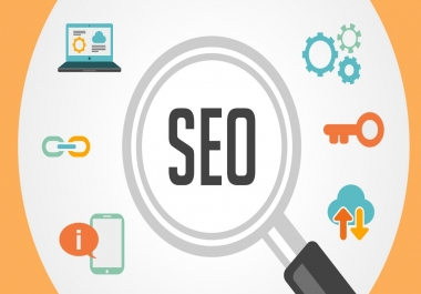 Create  full page seo Report for your website