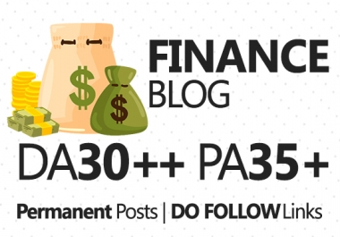 Write and do Guest Post in Finance blog