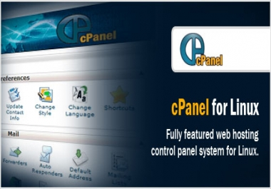 Guaranteed - cPanel web hosting SSD - High Performance for wordpress for 1 year