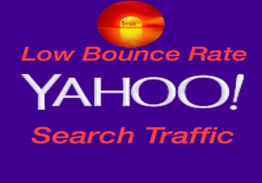 Keyword Unlimited Yahoo Search Traffic for 30 Days