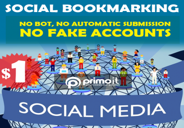 Add your site manually on 20 social bookmarking sites