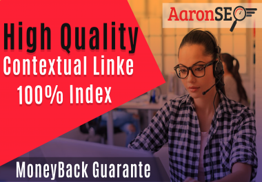 High Quality 20 contextual backlinks-All links Index