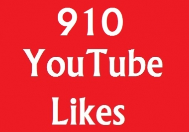 Instant add 910+ YouTube Likes on your video very fast adding