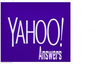 promote your website in 5 Yahoo Answers with Clickable link