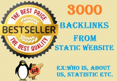 manually submits your website to 3,000+ places to generate Google Penguin and Panda safe backlinks
