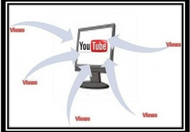 give you guaranteed 4000 real human youtube views to your YouTube video