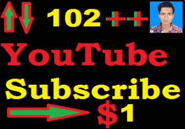 Manualy 501++ Non Drop Youtube Subscriber