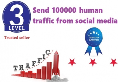 send 100000+ human traffic from google yahoo Bing etc.