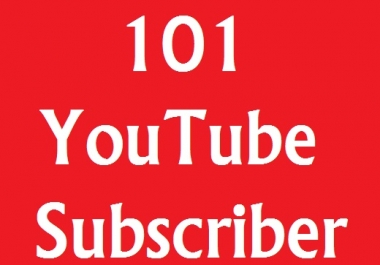 Add 101+ YouTube Subscribers from USA, France And English