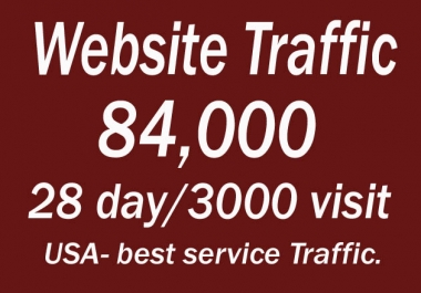 Unlimited USA Targeted, traffic,visitors,