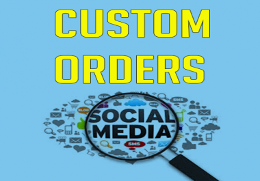 Custom Order For Buyers