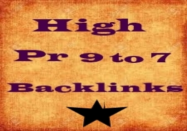 Create white hat 50 high pr backlinks