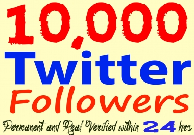 Get 10,000+ Twitter Foll0wers High Quality and Permanent in 24 hours