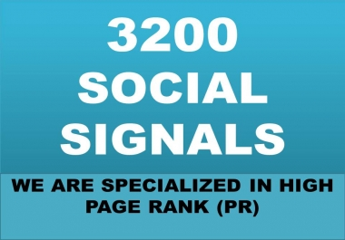 BUILD ORGANIC 3200 SOCIAL SIGNALS WILL BE CREATED FROM AUTHORITY SOCIAL MEDEA SITE