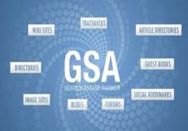 Fresh GSA List 150K+ Verified Links