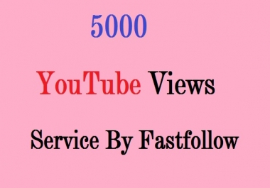 give you 5000+++ real Indian Human youtube video views