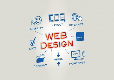Get your PSD Website Design 5 Page