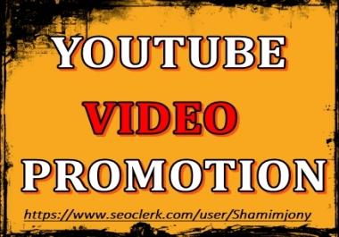 YouTube Video Marketing and Social Media Basic Promotion
