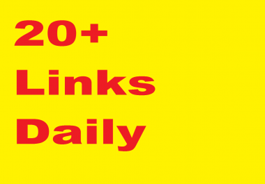 20+ High Authority links DAILY, DA 40-99 , WHITEHAT, seo link building service