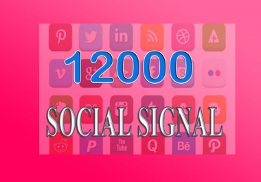 Best quality 12000 real perfect SOCIAL SIGNALS juice and TOP 20 Social Backlinks Bookmarking  from 5 PR9-PR10 social site