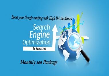 Boost your Google ranking with High DA Backlinks