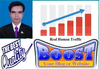 Get 2,000 real traffic to your blog or website