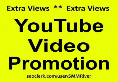 YouTube Video Promotion Via Real HQ Audience