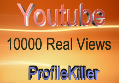 10000 Normal views Very Fast Speed