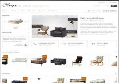build an eCommerce website store for you