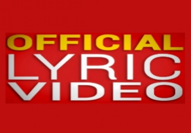 Official Lyric Video - YouTube - Dailymotion - Vimeo - Worldstarhiphop