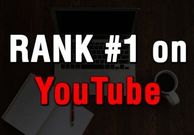 SUPER SALE! RANK page 1 in YOUTUBE - Most Trusted Service For ranking +600 Sale