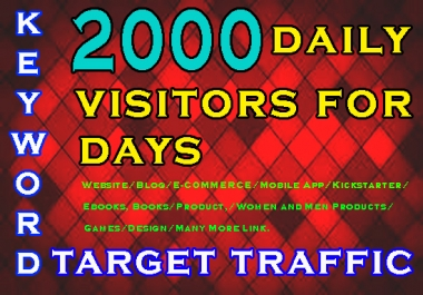 20,000 KEYWORD TARGET WEBSITE TRAFFIC