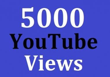 5000+ High Quality Views Safe Non Drop Guarantee