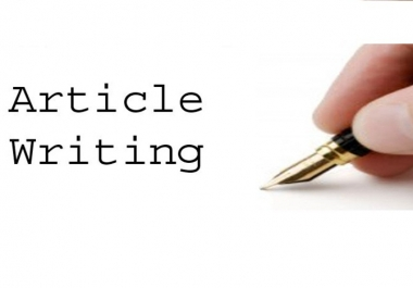 2X500 words UNIQUE Informative Article Writing Services