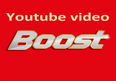 Get 1000 plus  HQ youtube views and 50+ likes  within 6 hours