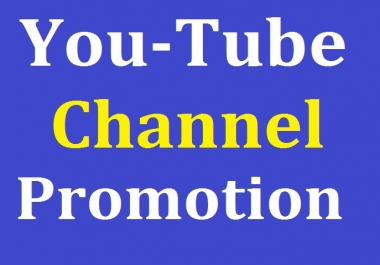 I will do Manually Channel Promotion Worldwide Users