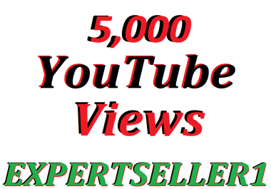 Get 5,000 YouTube Views Or 50 YouTube Custom Comments In Your Video  30 days Refill Guarantee