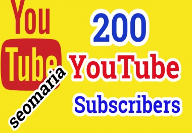 200+ YouTube Subscriber Non Drop 12/24 Hours Delivery