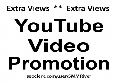 YouTube Video Promotion & Marketing Good For SEO Ranking