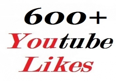 Give you 600+ youtube likes very fast