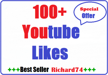 100+ youtube Likes very fast complete just