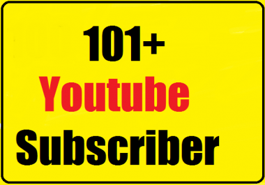 Non Drop 110+ Youtube subs criber active channel very fast 24-48 hours