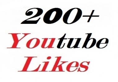 200+ youtube video likes split availavle very fast