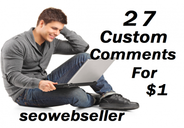 Limited Offer 27+ YouTube Custom Comments With Free Some Likes