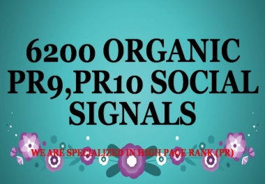 1ST TIME ON SEOCLERKS 6200 ORGANIC PR9,PR10 SOCIAL SIGNALS ,GENUINE IMPROVEMENT,BEST INVESTMENT