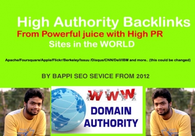 Create Manually 55 PR9 High Authority Backlinks for Ranking Up Your Site or Youtube Video
