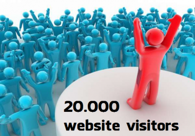 20,000 Visitors to Any Link